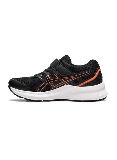 Asics Asics Jolt 3 Siyah-Mavi Erkek Çocuk Yürüyüş Ayakkabısı Siyah